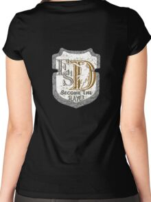 ESD_Slayer Women's Fitted Scoop T-Shirt