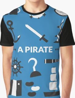 Once Upon A Time - A Pirate Graphic T-Shirt