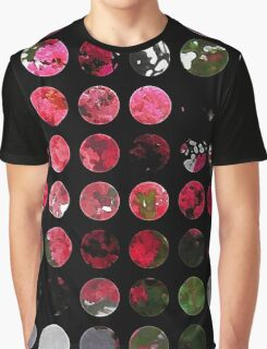 Crape Myrtle Art Circles 1 Graphic T-Shirt