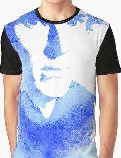 sherlock in blue Graphic T-Shirt