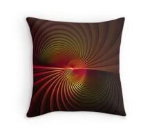 Tubular Intersect Throw Pillow