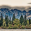 Lake Wakatipu, Queenstown III by elspiko