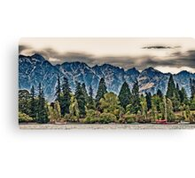 Lake Wakatipu, Queenstown III Canvas Print