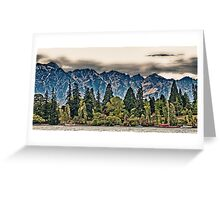Lake Wakatipu, Queenstown III Greeting Card
