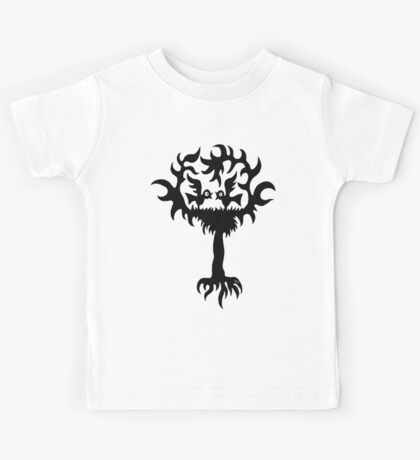 Funny Birds on Tree t-shirt design Kids Clothes