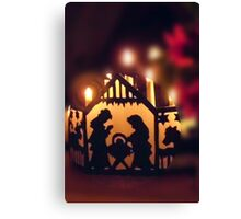 Frohe Weihnachten, Merry Christmas Canvas Print
