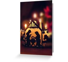 Frohe Weihnachten, Merry Christmas Greeting Card