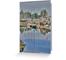 Port Hudson October Greeting Card