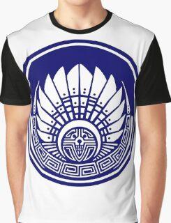 Mayan mask, crop circle, Quetzalcoatl Graphic T-Shirt