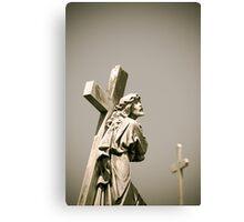A Cross to Bear, Recoleta, Argentina Canvas Print