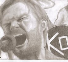 Caleb Followill (Kings of Leon) by Elliot  Spark