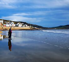 Pause For Reflection ~ Lyme Regis by Susie Peek