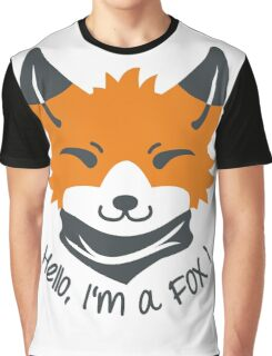 Hello, I'm a FOX! Graphic T-Shirt