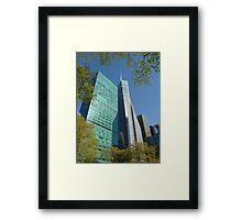 Bryant Park, NYC Framed Print