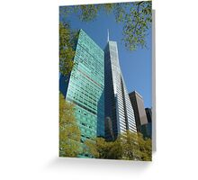 Bryant Park, NYC Greeting Card