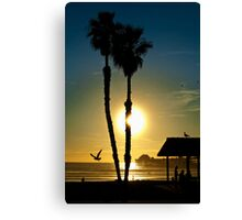 Sunset Oceanside California Canvas Print
