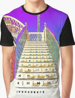 Railway Steps Whitehead Graphic T-Shirt