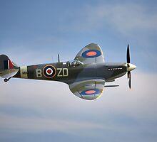 Spitfire Mk9 by Ian Merton