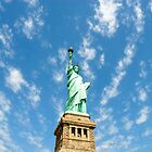Statue Of Liberty by Ken Griffith