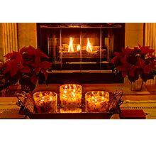 Warm Christmas Wishes Photographic Print