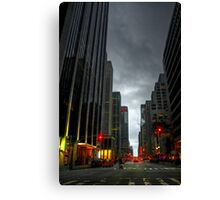 Evening Time in NYC Canvas Print
