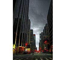 Evening Time in NYC Photographic Print