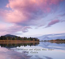 Merry Christmas from Jackson Hole, Wyoming by A.M. Ruttle