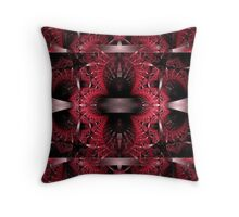 Bands Of Steel Throw Pillow