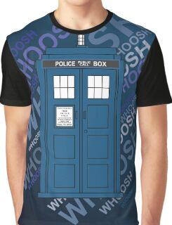 Tardis Whoosh sound Doctor Who Graphic T-Shirt