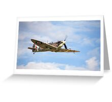 Spitfire Mk5 Greeting Card