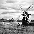 Herringfleet wind pump by Ian Merton