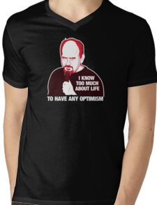 Louis C.K. Mens V-Neck T-Shirt