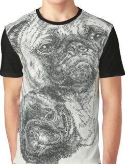 Pug Father & Son Graphic T-Shirt