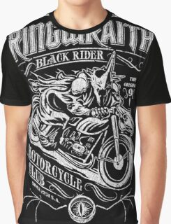 Black Rider Motorcycle Club Graphic T-Shirt