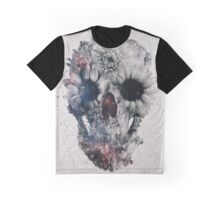 Floral Skull 2 Graphic T-Shirt