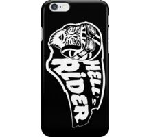Hell's rider iPhone Case/Skin