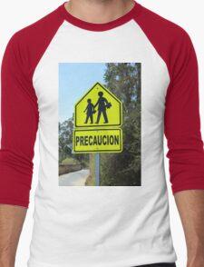 School Zone Men's Baseball ¾ T-Shirt