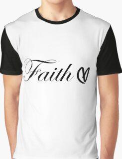 Faith Heart Graphic T-Shirt