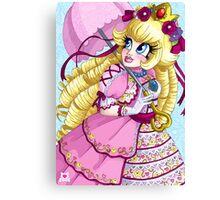 Lolita Princess Peach Canvas Print