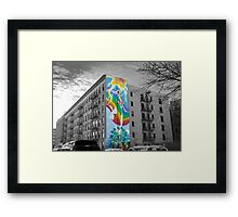 High-Rise Mural Framed Print