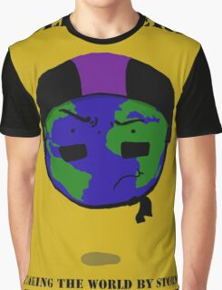 Roller Derby- Taking the World by Storm Graphic T-Shirt