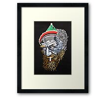 Fright Framed Print