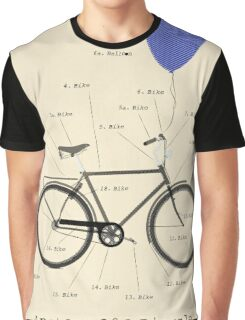 Anatomy Of A Bicycle Graphic T-Shirt