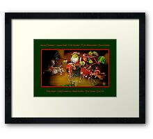 Merry Christmas To All !!! Framed Print