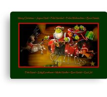 Merry Christmas To All !!! Canvas Print
