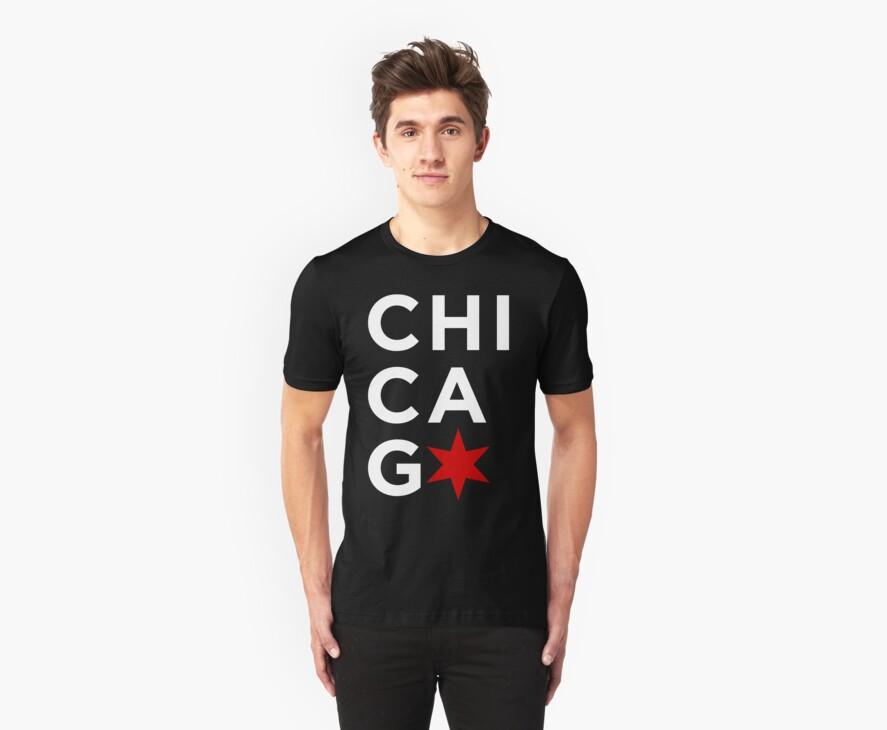 Chicago (White) by Greg Dressel