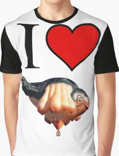 I <3 Skywhale Graphic T-Shirt