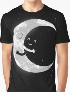 Moon Hug Graphic T-Shirt
