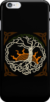 Celtic knot tree by astr0nomer