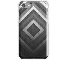Gray diamonds iPhone Case/Skin